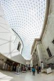29 07 2015, LONDRES, Reino Unido - opinião de British Museum e detalhes Imagens de Stock Royalty Free