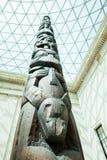 LONDRES, Reino Unido - opinião de British Museum e detalhes Fotos de Stock