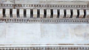 LONDRES, Reino Unido - opinião de British Museum e detalhes Fotos de Stock Royalty Free