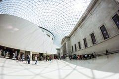 29 07 2015, LONDRES, Reino Unido - opinión de British Museum y detalles Imagen de archivo