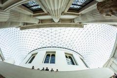 29 07 2015, LONDRES, Reino Unido - opinión de British Museum y detalles Fotos de archivo libres de regalías