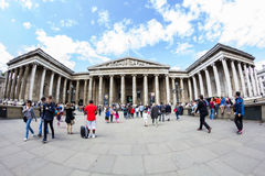 29 07 2015, LONDRES, Reino Unido - opinión de British Museum y detalles Foto de archivo