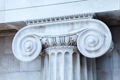 LONDRES, Reino Unido - opinión de British Museum y detalles Foto de archivo