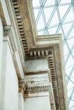 LONDRES, Reino Unido - opinión de British Museum y detalles Fotografía de archivo libre de regalías