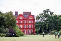 LONDRES, Reino Unido, visión desde los jardines de Kew, jardines botánicos reales Imagen de archivo libre de regalías
