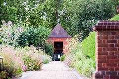 28 07 2015, LONDRES, Reino Unido, vista dos jardins de Kew Fotos de Stock Royalty Free