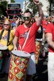 Londres, Royaume-Uni - 27 août 2017 Carnaval 2008 de Notting Hill photographie stock libre de droits