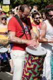 Londres, Royaume-Uni - 27 août 2017 Carnaval 2008 de Notting Hill images libres de droits