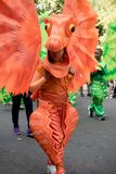 Londres, Royaume-Uni - 27 août 2017 Carnaval 2008 de Notting Hill photo libre de droits
