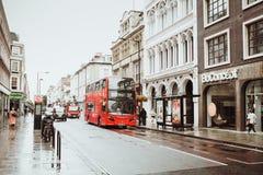 Londres, Royaume-Uni - 18 août 2017 : Les rues de Londres Photo libre de droits