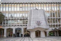 Londres, Royaume-Uni - 30 octobre 2017 : - le palais de corporations photos stock