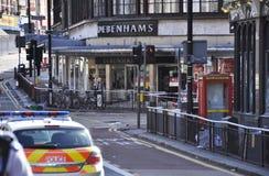 Londres s'ameute la conséquence, jonction de Clapham Photographie stock