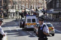 Londres s'ameute la conséquence, jonction de Clapham Image stock