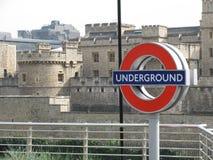 Londres souterraine Images stock