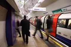 Londres subterráneo Imagen de archivo libre de regalías