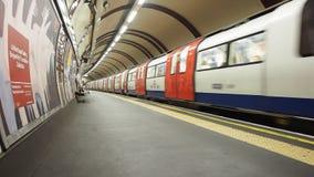 Londres subterráneo metrajes
