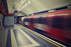 Londres subterráneo Foto de archivo