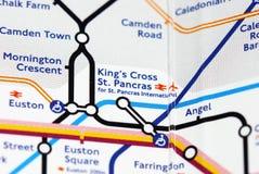 Londres subterrânea Imagens de Stock