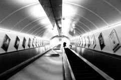 Londres subterrânea Fotos de Stock Royalty Free