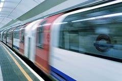 Londres subterrânea - 3 Fotos de Stock Royalty Free