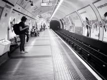 Londres subterrânea Foto de Stock Royalty Free