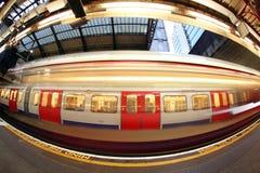 Londres subterrânea, Inglaterra Imagem de Stock Royalty Free