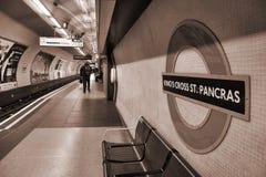 Londres subterrânea Fotos de Stock
