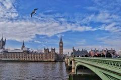 Londres supérieure Image libre de droits