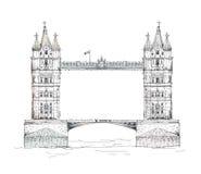 Londres Torre Bridge1 ilustração royalty free
