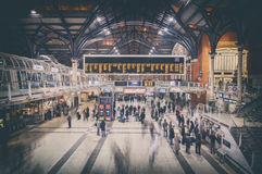 Londres trainstation Image stock