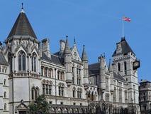 Londres, Tribunales de Justicia reales imágenes de archivo libres de regalías