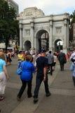 Londres - um dia dos Olympics 2012 Imagem de Stock