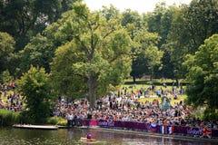 Londres - un día de las Olimpiadas 2012 Fotografía de archivo