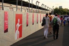 Londres - un jour des Jeux Olympiques 2012 Photographie stock