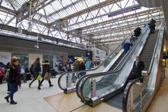 Londres Victoria Station Fotos de archivo libres de regalías