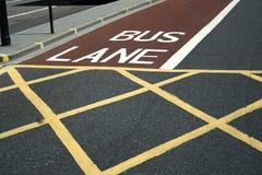 Londres. Ville. Route Photographie stock