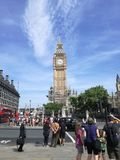 Londres visitant le pays Images stock