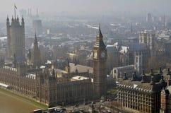Londres vista do olho de Londres Fotos de Stock Royalty Free