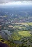 Londres - vue aérienne Image libre de droits