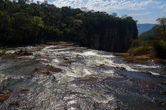 Londrina Paranà för Apucaraninha nedgångvattenfall ¡ Brasilien Fotografering för Bildbyråer