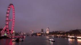 Londyński oko i Thames zbiory