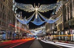 Londyńscy bożonarodzeniowe światła Fotografia Stock