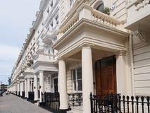 Londyńscy domy miejscy zdjęcie royalty free