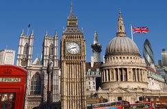 Londyńska linia horyzontu fotografia stock