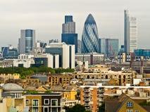 Londyńska linia horyzontu zdjęcia royalty free