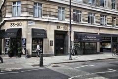 Londyńska napad z bronią lokacja Obraz Royalty Free