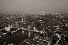 Londyńska noc zdjęcia royalty free