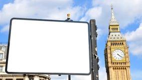 Londyńska reklama fotografia stock