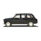 Londyńska taksówka Isoalted Zdjęcia Royalty Free