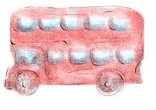 Londyński autobus Obraz Royalty Free